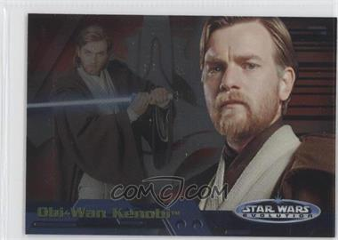 2006 Topps Star Wars Evolution Update Edition Evolution A #14A - Obi-Wan Kenobi
