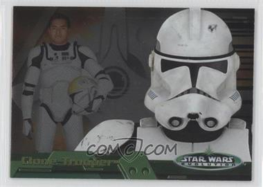 2006 Topps Star Wars Evolution Update Edition Evolution B #4B - Clone Trooper