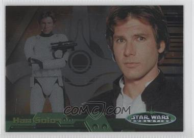 2006 Topps Star Wars Evolution Update Edition Evolution B #6B - Han Solo
