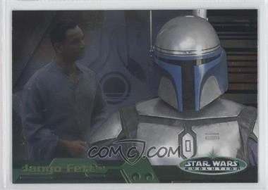 2006 Topps Star Wars Evolution Update Edition Evolution B #7B - Jango Fett