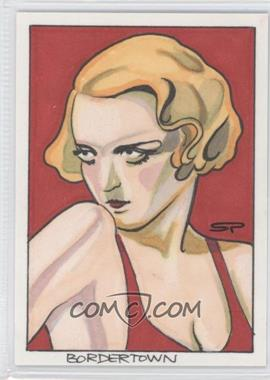 2007-08 Breygent Classic Vintage Movie Posters Sketch Cards #N/A - [Missing] /1