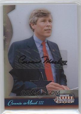 2007 Donruss Americana - [Base] - Stars Materials Signatures [Autographed] [Memorabilia] #36 - Connie Mack III /250