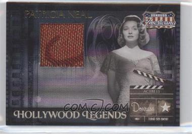 2007 Donruss Americana - Hollywood Legends - Materials [Memorabilia] #HL-34 - Patricia Neal /350