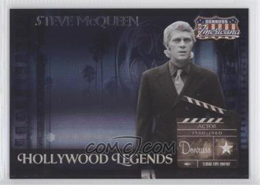 2007 Donruss Americana - Hollywood Legends #HL-10 - Steve McQueen /500