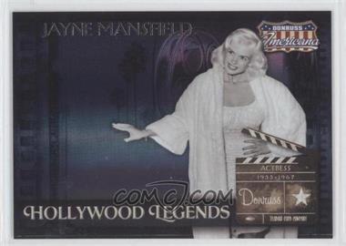 2007 Donruss Americana - Hollywood Legends #HL-6 - Jayne Mansfield /500
