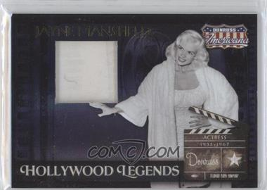 2007 Donruss Americana Hollywood Legends Materials [Memorabilia] #HL-6 - Jayne Mansfield /325