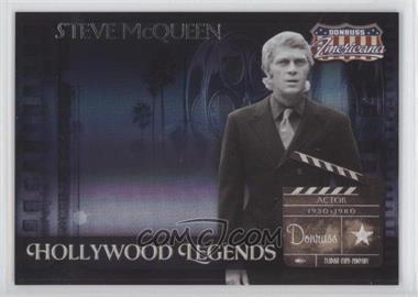 2007 Donruss Americana Hollywood Legends #HL-10 - Steve McQueen /500