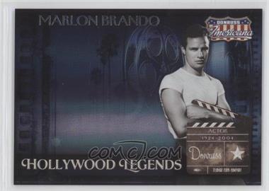 2007 Donruss Americana Hollywood Legends #HL-28 - Marlon Brando /500