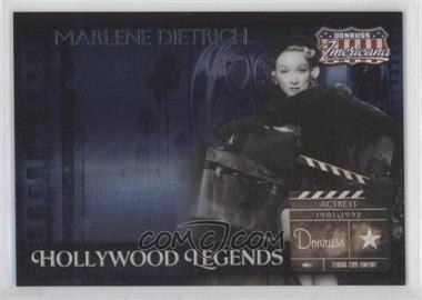 2007 Donruss Americana Hollywood Legends #HL-36 - Marlene Dietrich /500