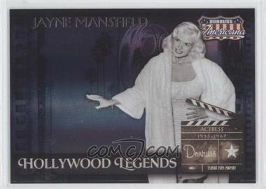 2007 Donruss Americana Hollywood Legends #HL-6 - Jayne Mansfield /500