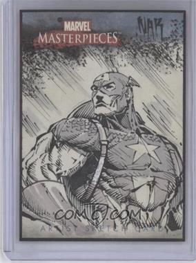 2007 Fleer Marvel Masterpieces Sketch Cards #N/A - [Missing]
