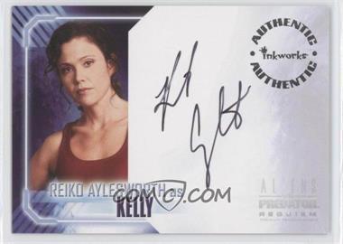 2007 Inkworks Aliens vs. Predator: Requiem - Autographs #A-1 - Reiko Aylesworth as Kelly