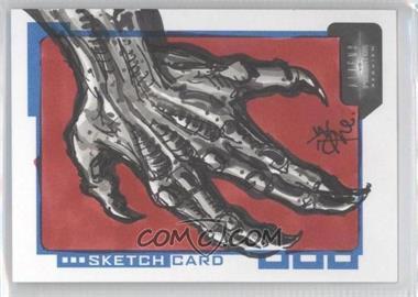 2007 Inkworks Aliens vs. Predator: Requiem Sketch Cards #S.TR - Tone Rodriguez /313