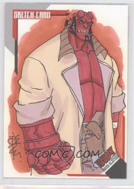 2007 Inkworks Hellboy Animated Sword of Storms - Sketch Cards #SK.4 - Tone Rodriguez /254