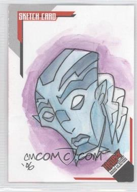 2007 Inkworks Hellboy Animated Sword of Storms - Sketch Cards #SK.6 - Chris Moreno /275