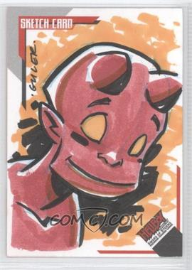 2007 Inkworks Hellboy Animated Sword of Storms Sketch Cards #SK.3 - [Missing] /250