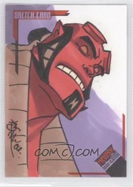 2007 Inkworks Hellboy Animated Sword of Storms Sketch Cards #SK.4 - Tone Rodriguez /254