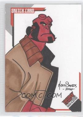 2007 Inkworks Hellboy Animated Sword of Storms Sketch Cards #SK.5 - Mark Dos Santos /248