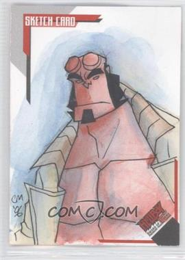2007 Inkworks Hellboy Animated Sword of Storms Sketch Cards #SK.6 - Chris Moreno /275