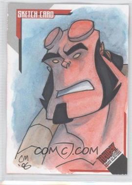 2007 Inkworks Hellboy Animated Sword of Storms Sketch Cards #SK.6 - [Missing] /275