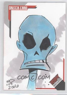 2007 Inkworks Hellboy Animated Sword of Storms Sketch Cards #SK.7 - Billy Martinez /247