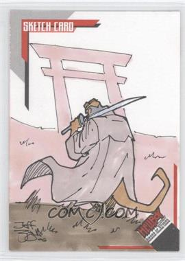 2007 Inkworks Hellboy Animated Sword of Storms Sketch Cards #SK.8 - Jeff Zugale /275