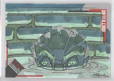 2007 Inkworks Hellboy Animated Sword of Storms Sketch Cards #SK.8 - Jeff Zugale /275