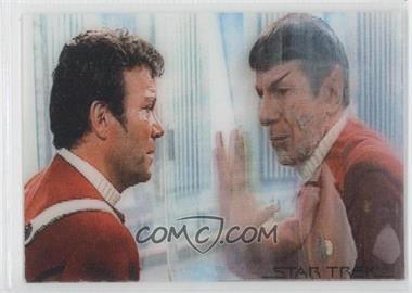 2007 Rittenhouse Star Trek: The Complete Movies [???] #M2.9 L2 - Spock, Captain Kirk