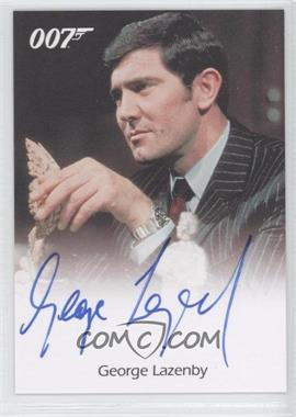 2007 Rittenhouse The Complete James Bond 007 Full-Bleed Autographs #N/A - George Lazenby
