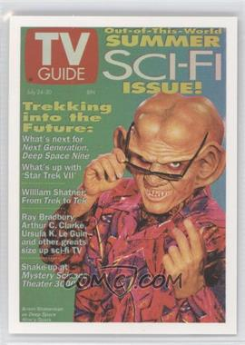 "2007 Rittenhouse The ""Quotable"" Star Trek: Deep Space Nine TV Guide Covers #TV2 - Armin Shimerman as Quark"