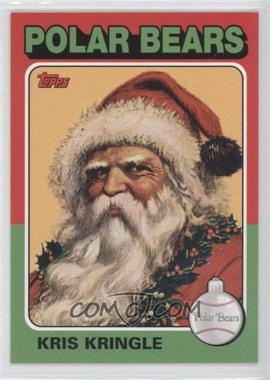 2007 Topps Santa Claus [???] #9 - Kris Kringle