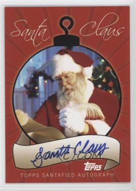 2007 Topps Santa Claus [???] #SCA-SC - Santa Claus