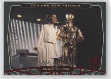 2007 Topps Star Wars 30th Anniversary - [Base] - Red Foil #92 - Old and New Friends
