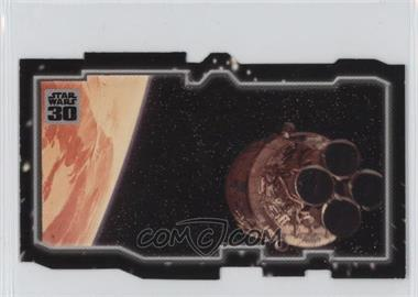 2007 Topps Star Wars 30th Anniversary - Tryptich Puzzle Pieces #2.2 - Escaping Fate