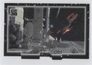 2007 Topps Star Wars 30th Anniversary - Tryptich Puzzle Pieces #5.1 - Insurmountable Odds