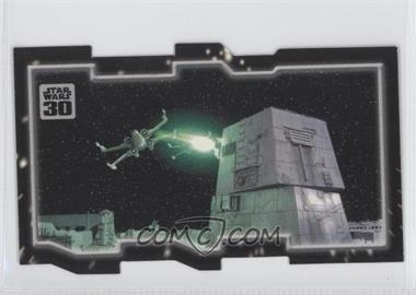 2007 Topps Star Wars 30th Anniversary - Tryptich Puzzle Pieces #5.2 - Insurmountable Odds