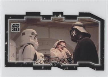 2007 Topps Star Wars 30th Anniversary - Tryptich Puzzle Pieces #9.2 - Tyranny