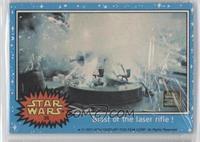 Blast of the Laser Rifle!