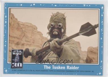 2007 Topps Star Wars 30th Anniversary [???] #NoN - The Tusken Raider