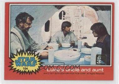 2007 Topps Star Wars 30th Anniversary Buybacks #104 - Luke's Uncle and Aunt