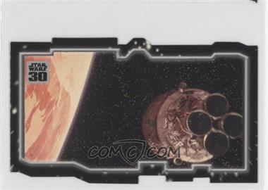 2007 Topps Star Wars 30th Anniversary Tryptich Puzzle Pieces #2.2 - Escaping Fate