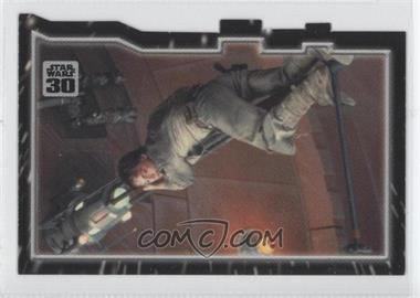 2007 Topps Star Wars 30th Anniversary Tryptich Puzzle Pieces #2.3 - Escaping Fate