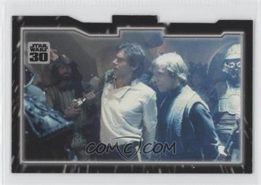 2007 Topps Star Wars 30th Anniversary Tryptich Puzzle Pieces #4.3 - Imprisonment
