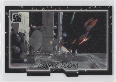 2007 Topps Star Wars 30th Anniversary Tryptich Puzzle Pieces #5.1 - Insurmountable Odds