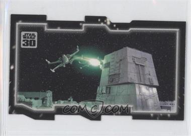 2007 Topps Star Wars 30th Anniversary Tryptich Puzzle Pieces #5.2 - Insurmountable Odds