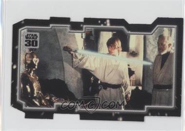 2007 Topps Star Wars 30th Anniversary Tryptich Puzzle Pieces #6.2 - Master and Apprentice