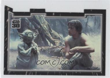2007 Topps Star Wars 30th Anniversary Tryptich Puzzle Pieces #6.3 - Master and Apprentice