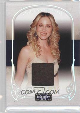 2008 Donruss Americana Celebrity Cuts - [Base] - Century Materials [Memorabilia] #20 - Christina Applegate /100