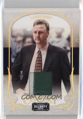 2008 Donruss Americana Celebrity Cuts - [Base] - Century Prime Materials [Memorabilia] #48 - Larry Bird /50