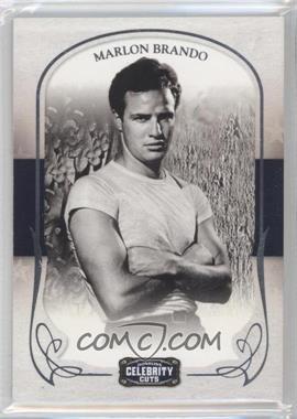 2008 Donruss Americana Celebrity Cuts - [Base] #58 - Marlon Brando /499